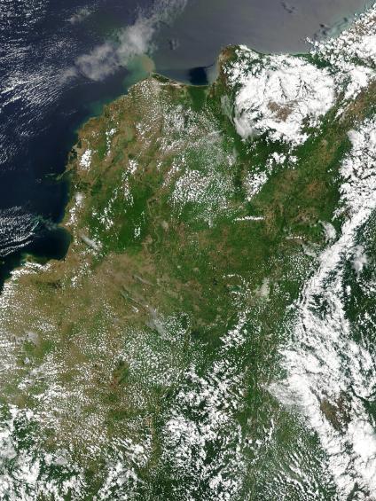 Mapas, Mapa Satelital, Foto, Imagen Satelite de Colombia