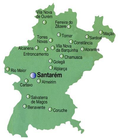 mapa de portugal alcanena Negócios de Caracóis: Caracol Ribatejano mapa de portugal alcanena