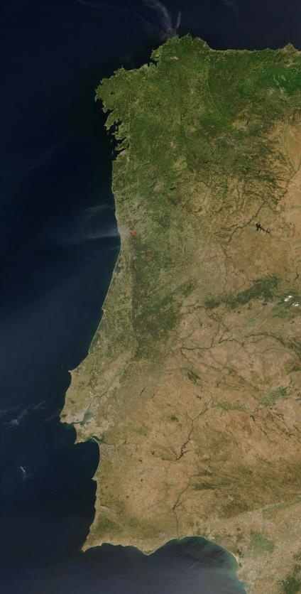 Mapas, Fotos e Imagens de Satélite de Portugal